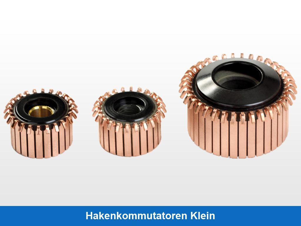 Hakenkommutatoren Klein