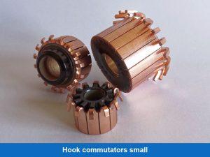 Hook commutators small