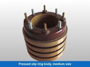 Pressed slip ring body, medium size
