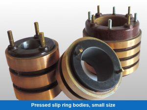 Pressed slip ring bodies, small size