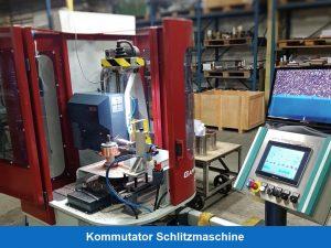 Commutator slot machine